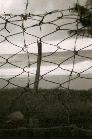 细雨飘来之前 垦丁的海